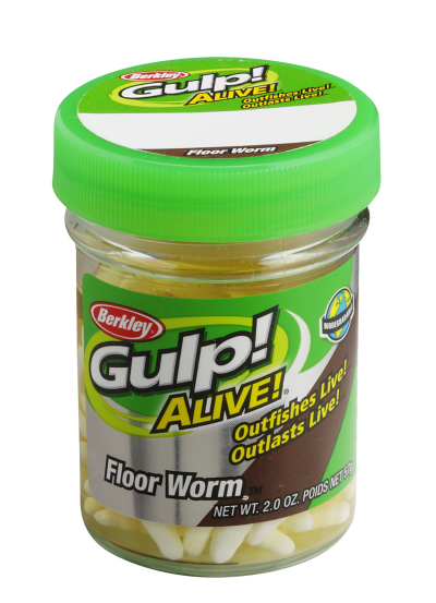 Berkley Gulp Alive Mehlwurm