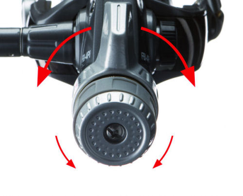 Reguläre Grundeinstellung: Normale Bremseinstellung und Kampfbremse in MIttelposition