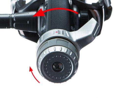 High-Power Einstellung: Normale Bremseinstellung und Kampfbremse in Maximalbremskraftpostion