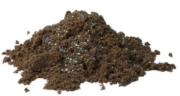 Exori Trout Project Glibby - dark mit Glitter